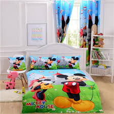 Mickey And Minnie Mouse Bedding Indoor Mickey Mouse Crib Bedding Ebay N Piece Disney Mickey Mouse