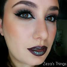 wearable halloween look using makeup geek u0027s insomnia pigment