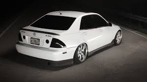 stanced lexus is300 white collin u2013 tui motorsports