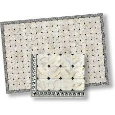 1 24 dollhouse flooring faux marble floor tile by model ebay