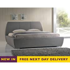 king size sofa bed uk time living exclusive nax5grey naxos 5ft grey fabric bed king size