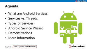 android service android services skill sprint