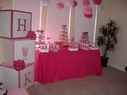table decorations for baby shower girl baby shower decorations for tables guru designs baby