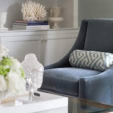 Blue Accent Arm Chair Roul Chair Blue Velvet Farmhouse Armchairs And Accent Chairs