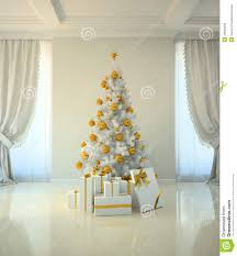 tree room in classic style stock illustration image