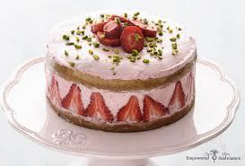 strawberry coconut flour cake gaps and paleo