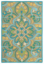 Feizy Rugs Distinctive Feizy Rugs Raphia I Tan Light Green Outdoor Area Rug