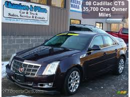 2008 cadillac cts for sale 2008 cadillac cts 4 awd sedan in black cherry 156027