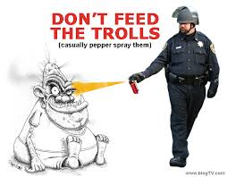 Facebook Troll Meme - image 203918 casually pepper spray everything cop know your