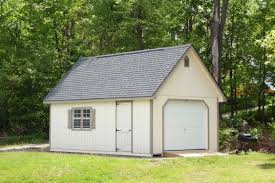 single car garages hillside structures 14x24 colonial single car garage