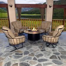 Swivel Rocker Patio Chair by Outdoor Iron Chair Monterra Swivel Rocker Club Chair American