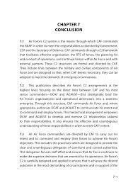 by order of the air force instruction 65 601 volume 3 1 command and control in the australian air force