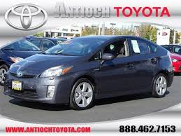 used cars toyota prius used 2011 toyota prius for sale antioch ca jtdkn3du7b0291477