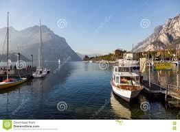 Lake Como Italy Map by Lake Como Italy Europe October 29 Boats At Lake Como Lecco