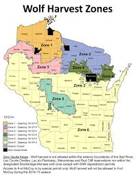 Wisconsin Public Hunting Land Map by Wisconsin Wolf Expert Weighs In On Hunt Wuwm