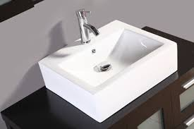 Bathroom Vanity Vessel Sink by Vessel Sink Bathroom Vanity Legion Wt9083 Ebony Finish Ceramic Top