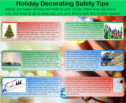holiday decorating safety tips christmas