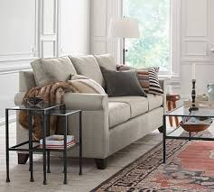Pottery Barn Buchanan Sofa Review Cameron Roll Arm Upholstered Sofa Pottery Barn