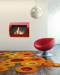 chelsea red anywhere fireplace