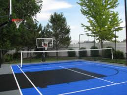 Half Court Basketball Dimensions For A Backyard by Understanding The Cost Of A Backyard Basketball Court Sportprosusa