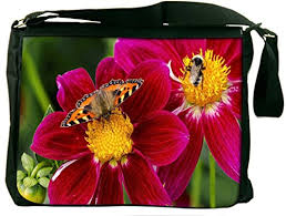 Seeking Honey Snoogg Butterfly Seeking Honey Padded Compartment Carrying