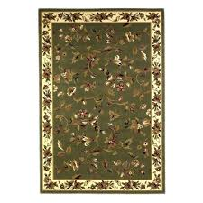 kas rugs french trellis sage ivory 5 ft 3 in x 8 ft area rug