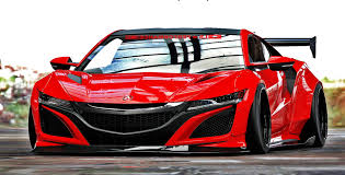 custom honda nsx acura nsx body kit by liberty walk lb work car such