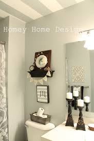 homey home design spring updates in the bathroom