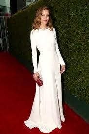 long sleeve white dress