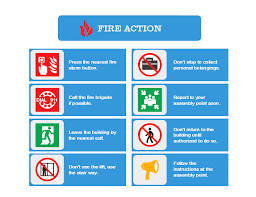 fire action plan free fire action plan templates