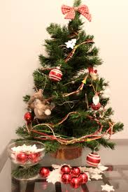 tiny decorated trees unique tree lights santa