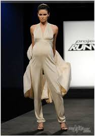 pregnancy jumpsuit project runway episode 2 recap messes huffpost