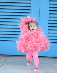 Pink Flamingo Halloween Costume Child Diyflamingorunning Attentiontodarling Jpg