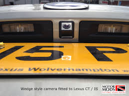 lexus bath uk reversing cameras fitted to cars motorhomes and commercials