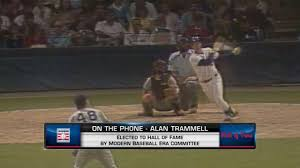 tigers react to trammell morris hall election mlb com