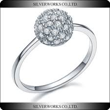 sterling diamond china from china popular trendy diamond ring 925 sterling silver