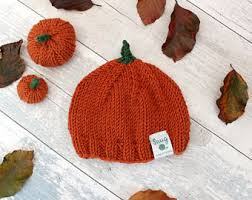 Infant Halloween Costumes Pumpkin Newborn Halloween Etsy