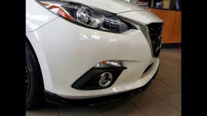 2016 mazda 3 fog light kit 2014 mazda3 aero kit youtube