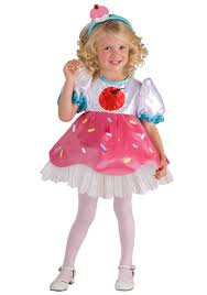 Halloween Princess Costumes Toddlers Toddler Cupcake Cutie Girls Costume Season Halloween