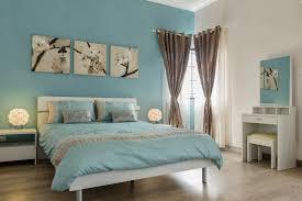 chambre et turquoise chambre bleu et beige idées décoration intérieure