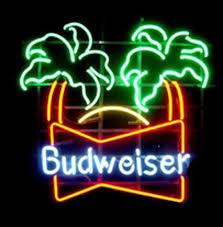 palm tree neon light budweiser palm trees neon sign neonsigninusa