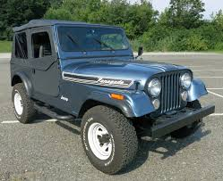turquoise jeep cj classic cars for sale at connors motorcars