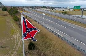 Dixi Flag New Confederate Flag Near Virginia Toll Plaza Is Part Of A