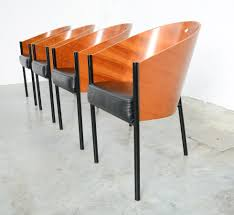 philippe starck chair chair with armrests aluminum by philippe