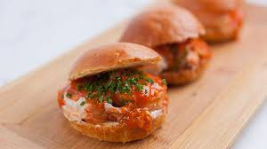 lobster roll recipe lobster roll with singapore chilli crab sauce
