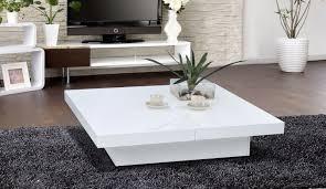 table basse carree slate laquee blanc table basse topkoo