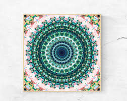 mandala wall art print large wall art printable mandala art
