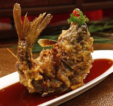 la carpe cuisine squirrel fish one nanjing dishes is one of four dishes ma xiangxing