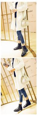 womens boots rubber sole suberry leather ankle boots rubber sole slip on womens