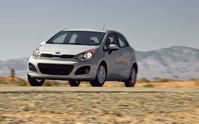 economy kia rio 2012 kia rio 5 door ex first test motor trend